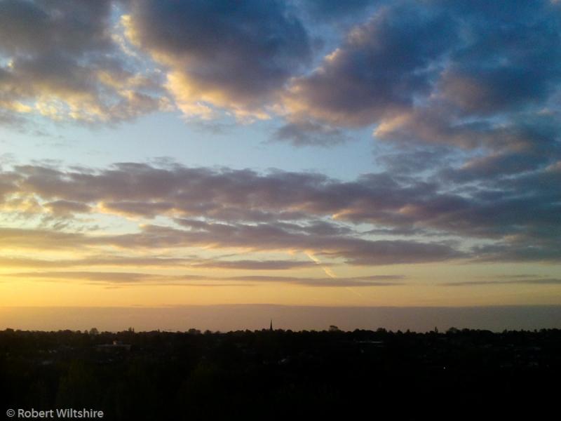 365 - Day 120 - Sunrise over Birmingham
