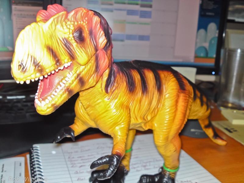 365 - Day 221 - T-rex