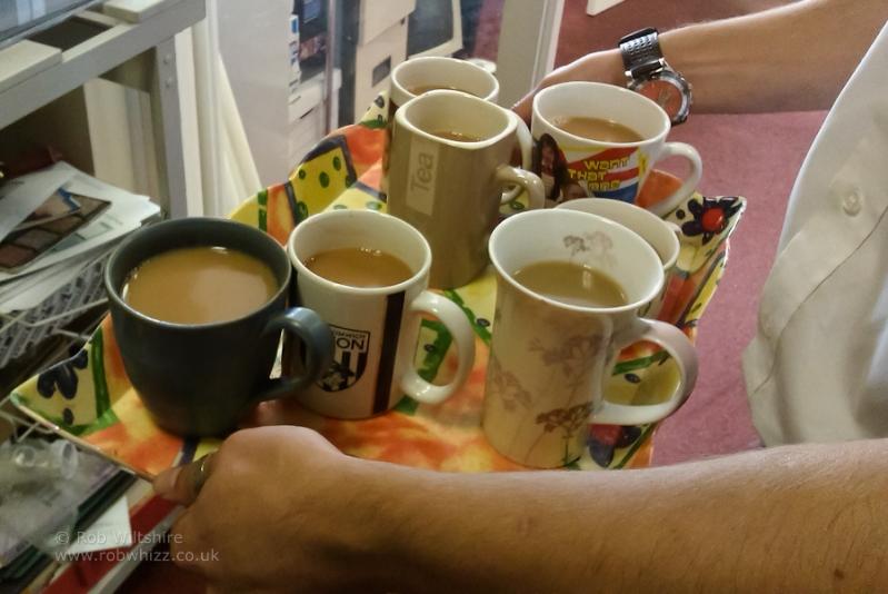 365 - Day 249 - Tea Boy