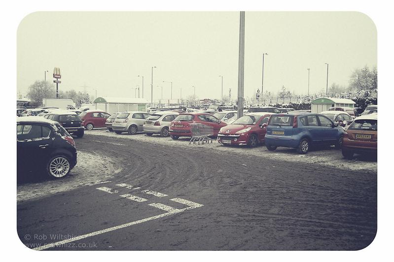 365 - Day 354 - Snowy Car Park