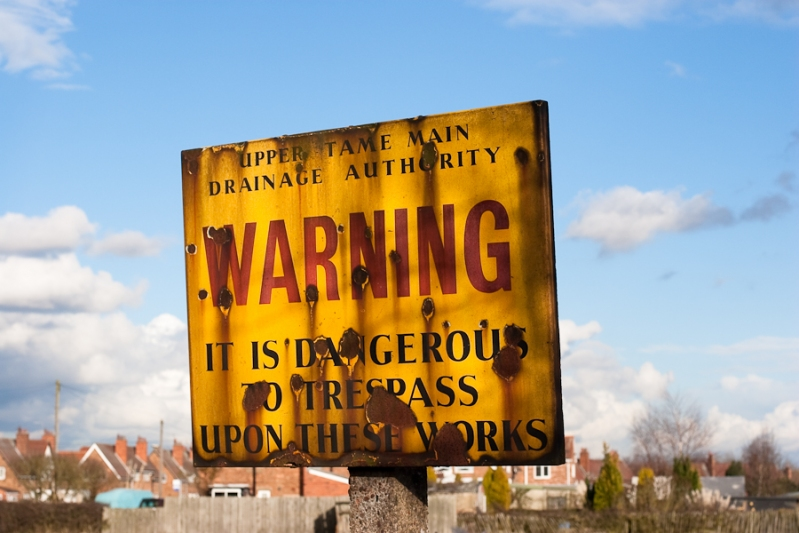 365 - Day 47 - Warning Sign